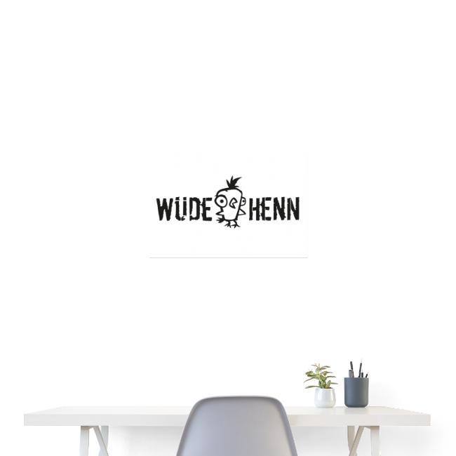 Vorschau: Wüde Henn - Poster 60x40 cm