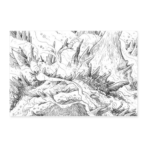 fluffydweller - Poster 60x40 cm