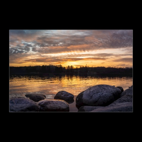 Marraskuun aurinko - Juliste 60x40 cm