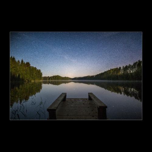 Kesäinen tähtiyö - Juliste 60x40 cm