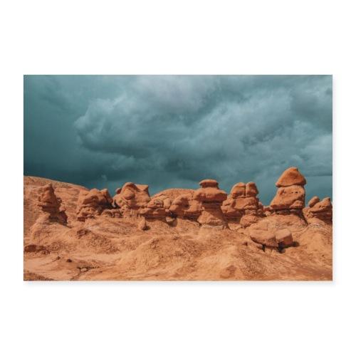 Unwetter - Poster 60x40 cm