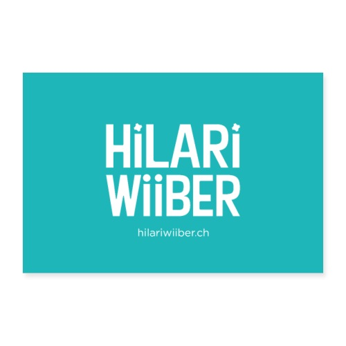 Hilari Wiiber Plakat - Poster 60x40 cm