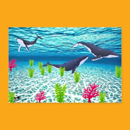 Deep Sea - Poster 60x40 cm