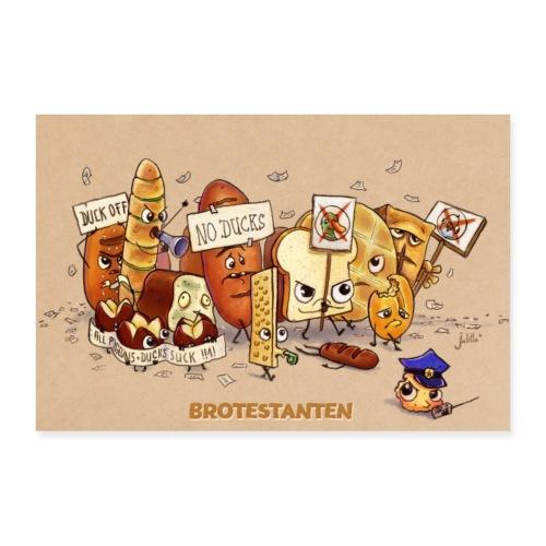 Brotestanten - Poster 60x40 cm
