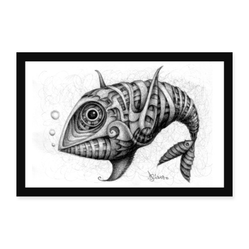Pesce & Fish Poster - Poster 60x40 cm