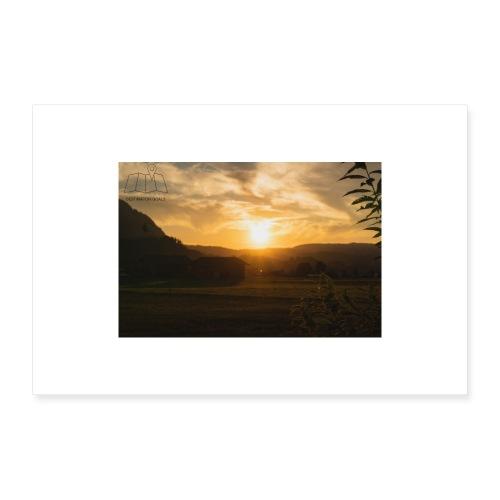 Sunset Poster - Poster 60x40 cm