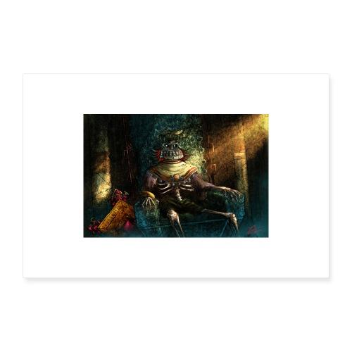 Fallen King - Poster 60x40 cm