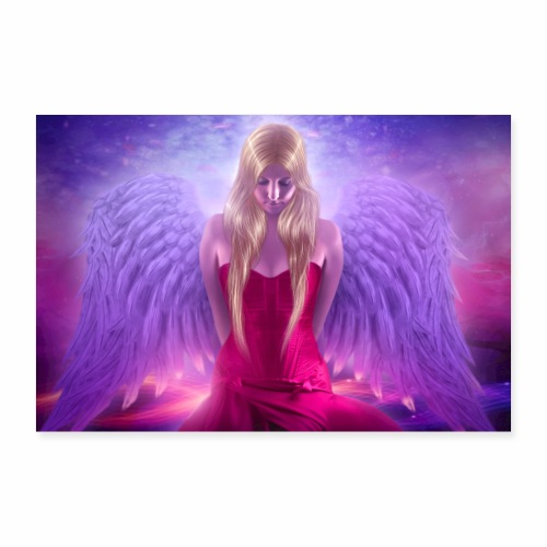 Nina Nice Angel Poster - Poster 60x40 cm