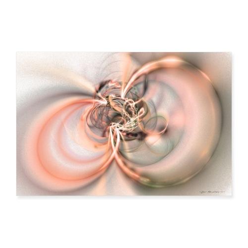 Abstrakti juliste - Two souls by Sipo Liimatainen - Juliste 60x40 cm