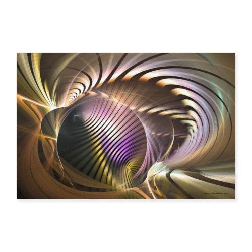Abstrakti juliste - Requiem by Sipo Liimatainen - Juliste 60x40 cm