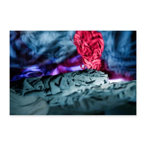 Vulkanausbruch - Poster 60x40 cm