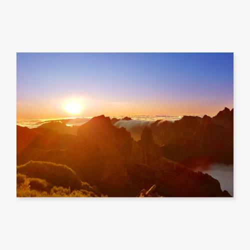 Sunset - Poster 60x40 cm