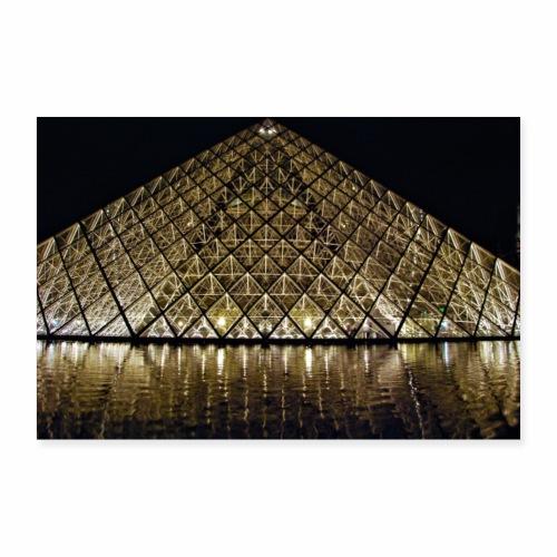 Le Louvre - Poster 60 x 40 cm