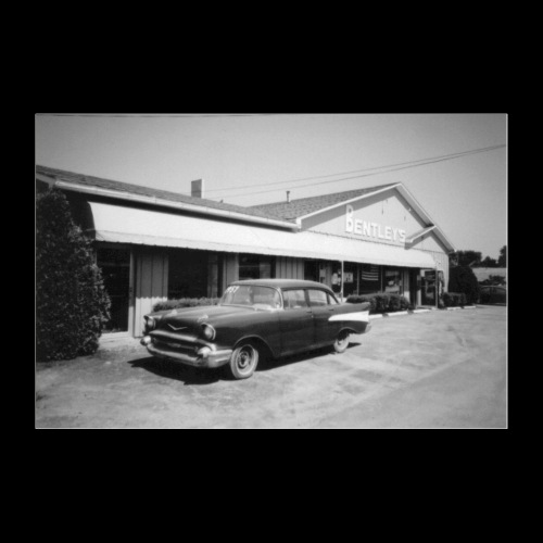 American Vintage Car - Poster 60x40 cm