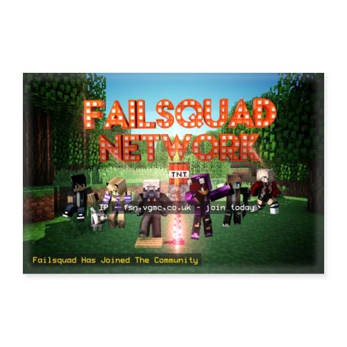 Failsquad Server Poster - Poster 24 x 16 (60x40 cm)