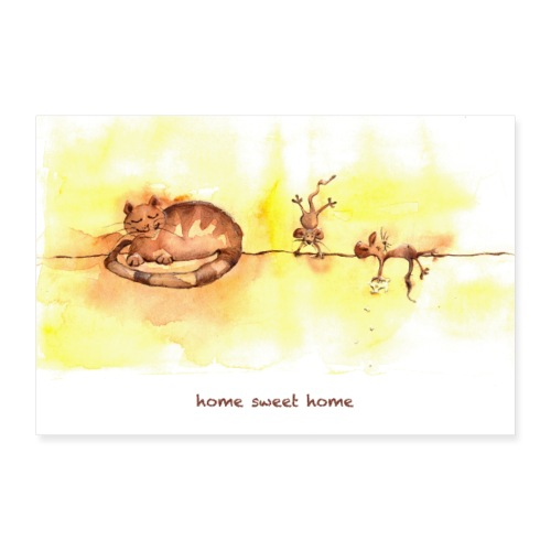 home sweet home POSTER - Poster 60x40 cm
