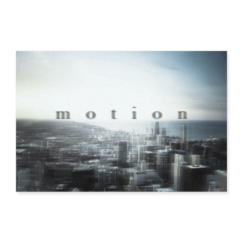 Motion - Poster 60x40 cm