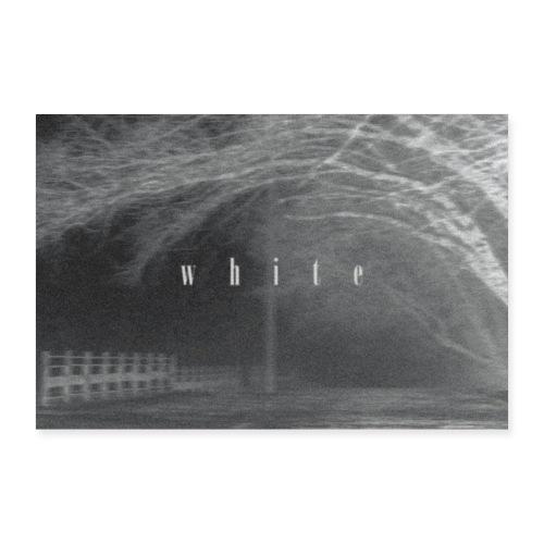 White - Poster 60x40 cm
