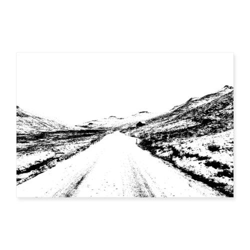 saksun3 - Poster 60x40 cm