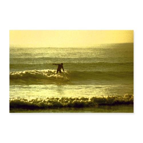 Pacific surf - Póster 60x40 cm