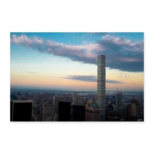 New York skyline - Poster 24 x 16 (60x40 cm)