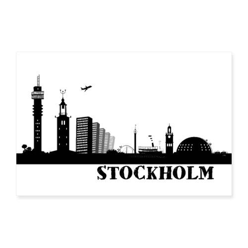 Stockholm - Poster 60x40 cm