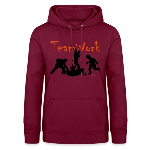 team work V2 - Sweat à capuche Femme