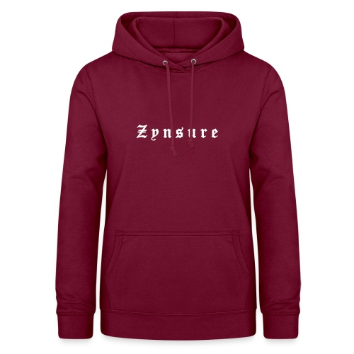 Zynsure Letters - Sudadera con capucha para mujer