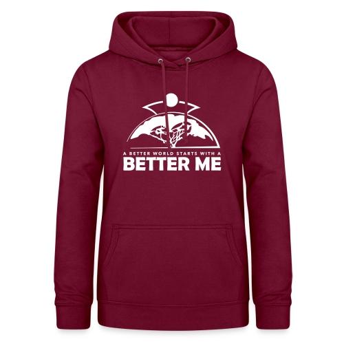 Better Me - White - Women's Hoodie