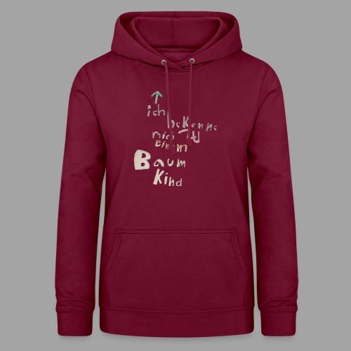 Bekkenungsmerkmal-design--- - Frauen Hoodie