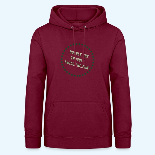 Double The Trouble 2 - Vrouwen hoodie