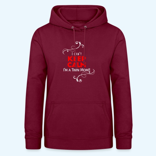 I Can't Keep Calm (voor donkere stof) - Vrouwen hoodie