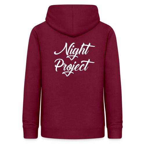 Night-Project - Sans fond - Sweat à capuche Femme