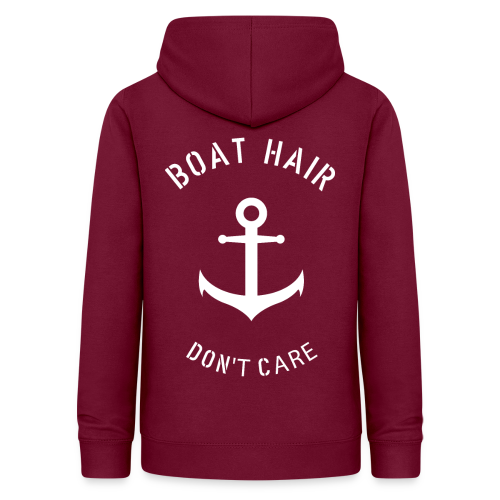 Boat Hair Dont Care - Anker - Frauen Hoodie