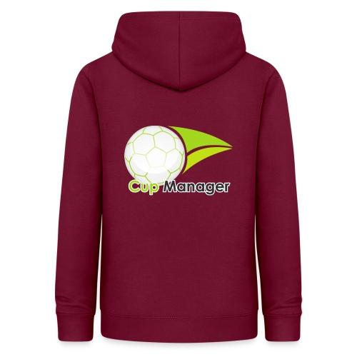 Cup Manager Vertikal Logo - Luvtröja dam