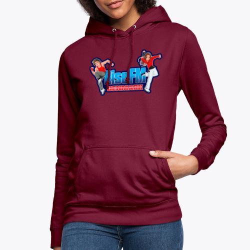 Rise FM Denmark Full Logo - Dame hoodie
