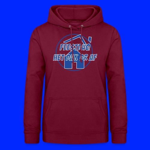 Simpel logo - Vrouwen hoodie