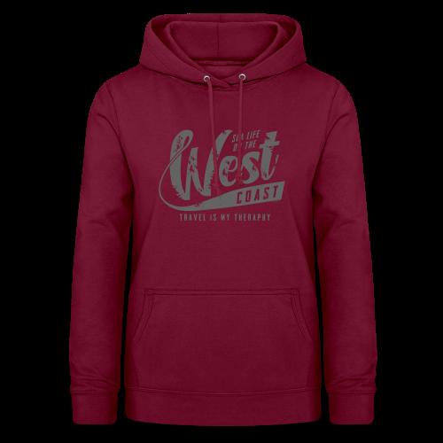 West Coast Sea surf clothes and gifts GP1306B - Naisten huppari