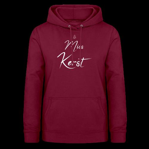 Miss Kerst - Vrouwen hoodie