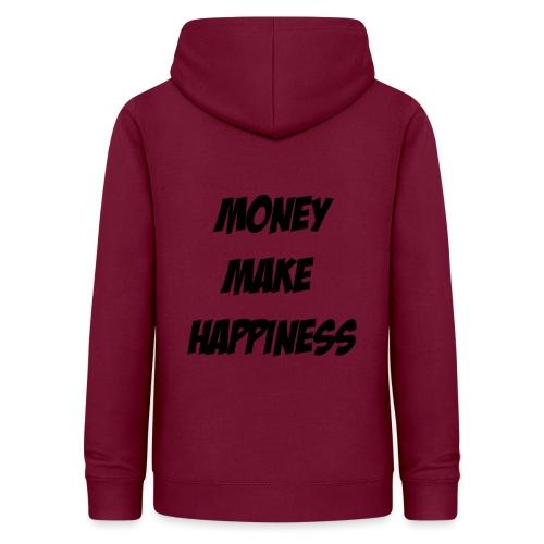 Money Make Happiness - Felpa con cappuccio da donna