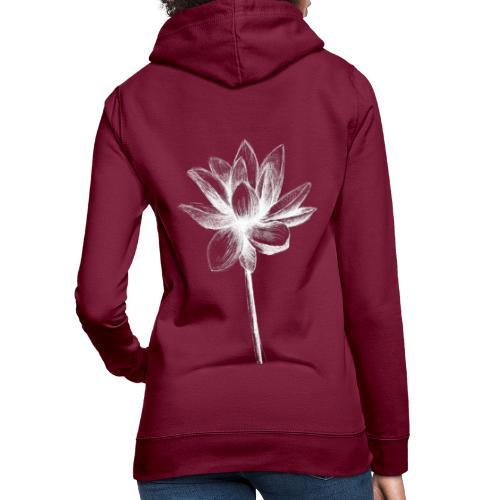 Lotus - Sweat à capuche Femme