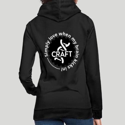 Simply love when my brain kicks in! - Dame hoodie