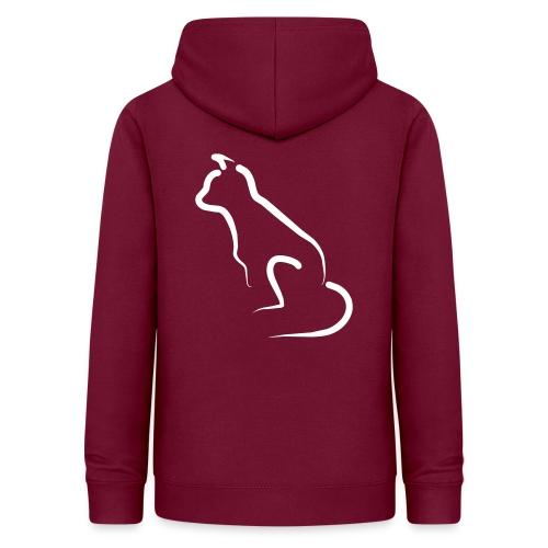 katten silhoutte - Vrouwen hoodie