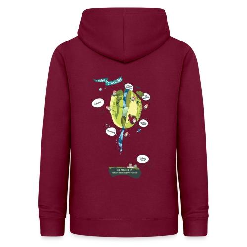 T-shirt Maison de L'aventure - Sweat à capuche Femme