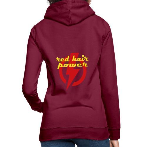 Red Hair Power, de kracht van rood haar - Vrouwen hoodie