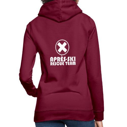 APRÈS SKI RESCUE TEAM 1 - Vrouwen hoodie