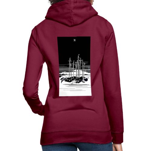Revenge Capitalism (on color) - Women's Hoodie
