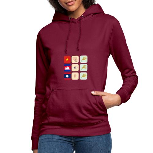 Proverb about Vietnam, Cambodia and Laos - Women's Hoodie