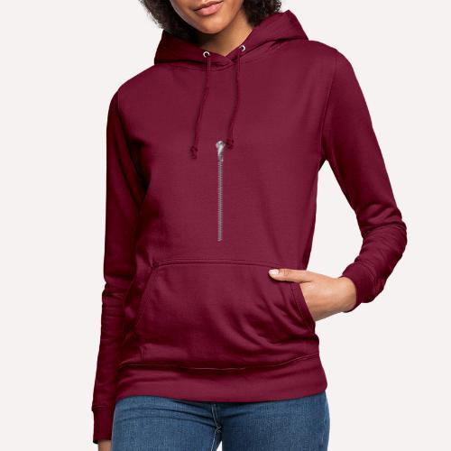 Zipper Funny Surprising T-shirt, Hoodie, Print - Women's Hoodie