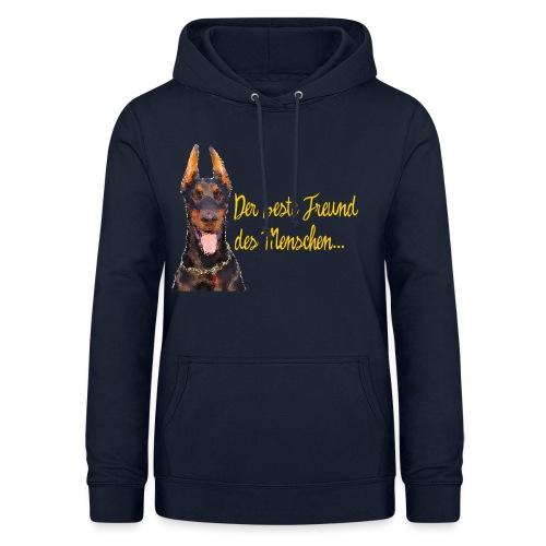 Dobermann - Der beste Freund des Menschen - Frauen Hoodie